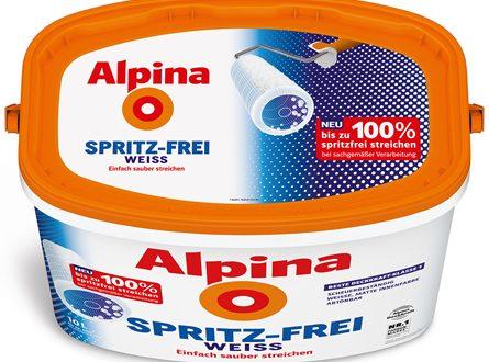 Alpina Farbe 445x330 - Sauber streichen gelingt mit der richtigen Farbe