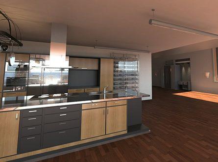 die offene wohnk che ein lang gehegter traum vieler m blieren. Black Bedroom Furniture Sets. Home Design Ideas