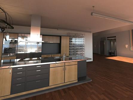 die offene wohnk che ein lang gehegter traum vieler. Black Bedroom Furniture Sets. Home Design Ideas